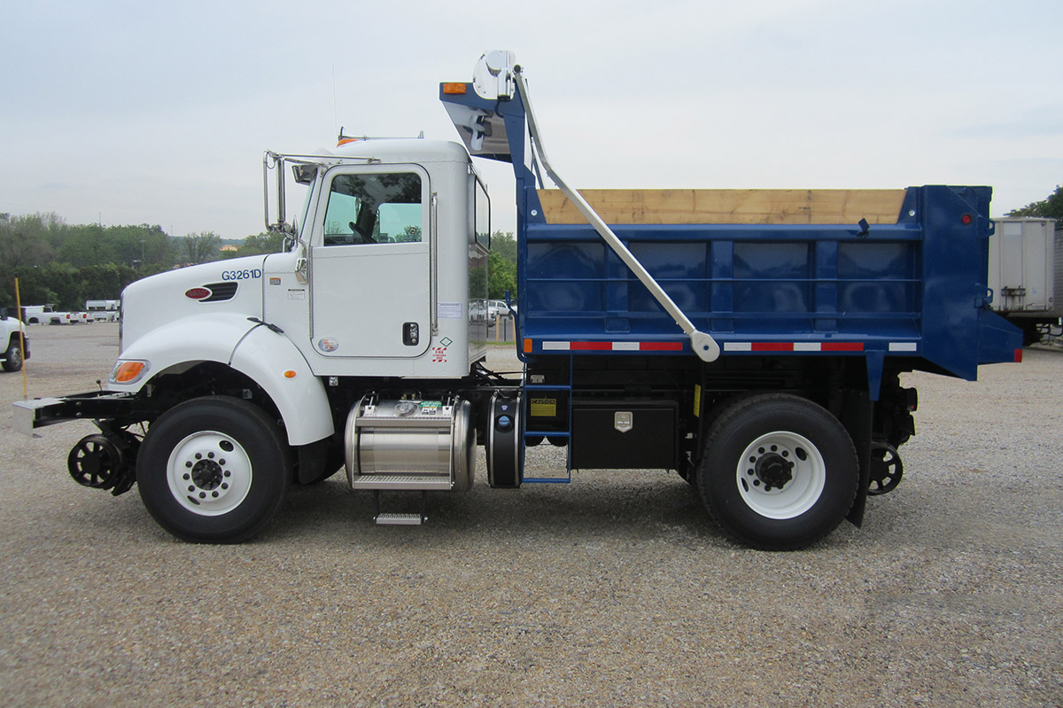 2 6 Cubic Yard Dump Truck Danella Companies