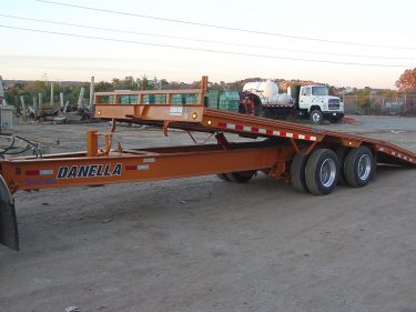 Equipment Trailer Tilting Bed