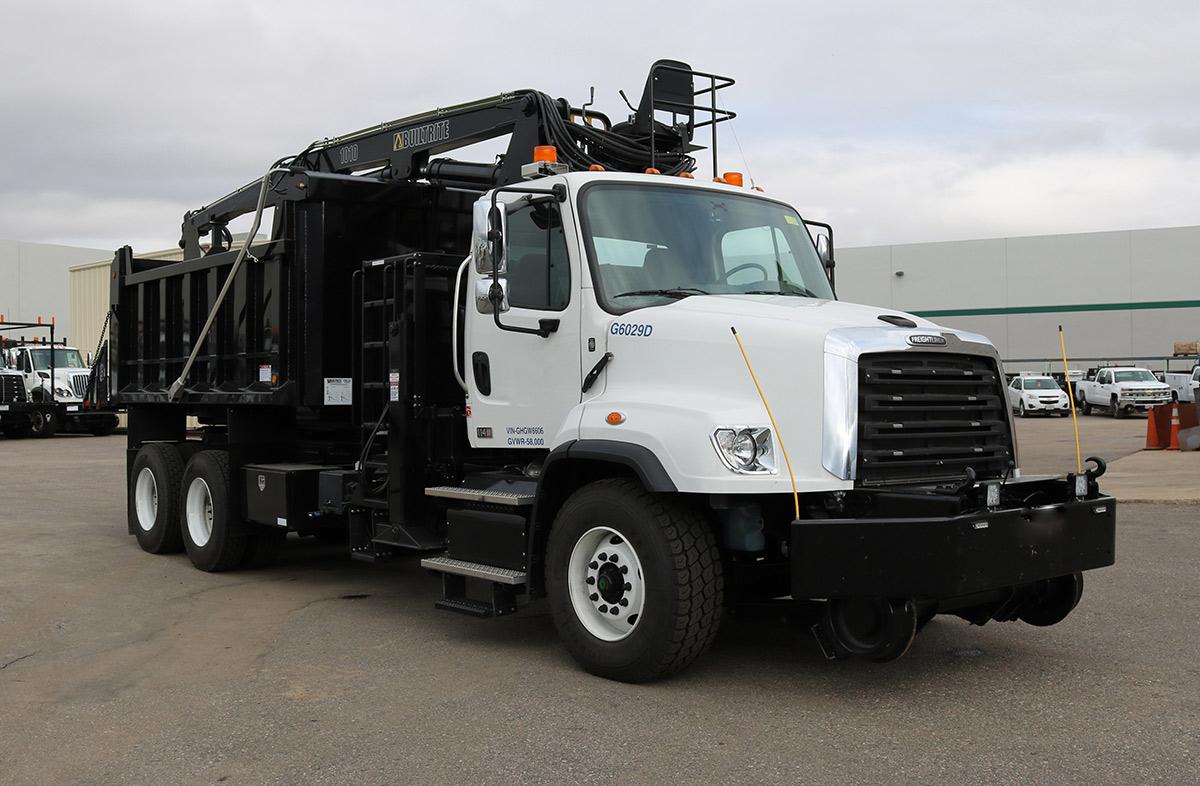 Hi Rail Rotary Dump Truck Danella Companies