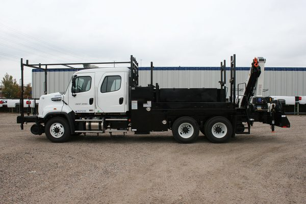 Hi Rail Section Truck Driver Side Crew Cab
