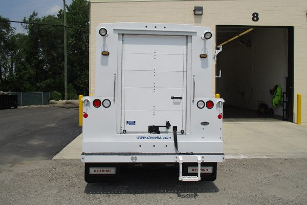 Hi Top Utility Truck Rear Utility Body