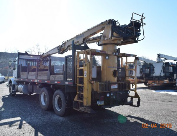 2012 Hi Rail Log Loader Grapple Truck Danella Companies