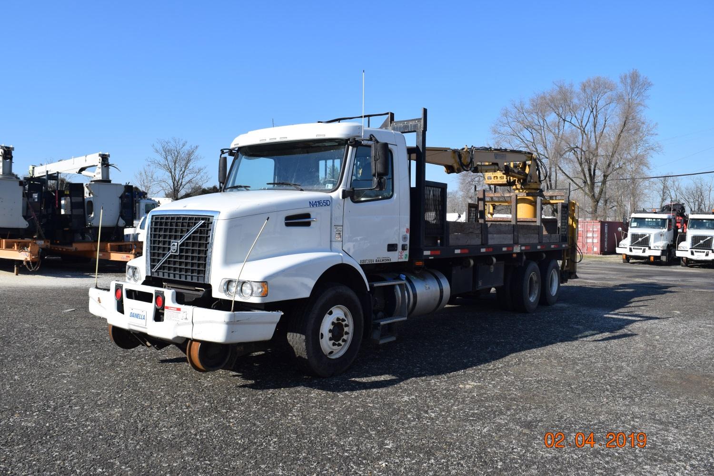2012 Hi Rail Log Loader Grapple Truck Danella Companies