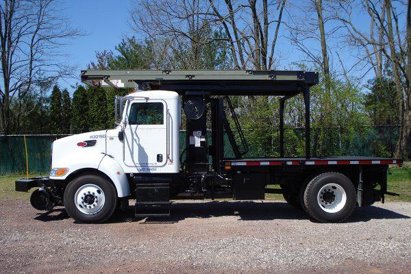 Platform Truck Driver Side Deck Lowered