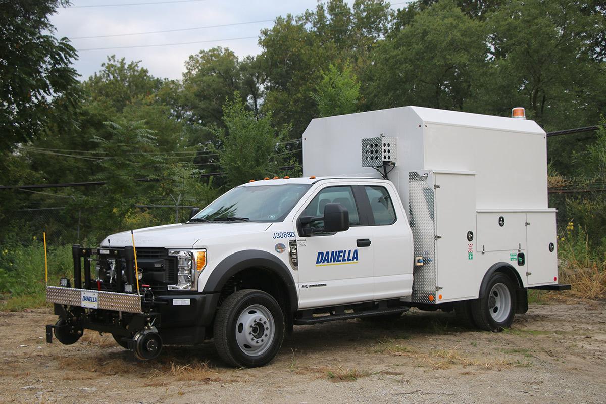 Thermite Welding Truck 19 500 Gvwr Danella Companies