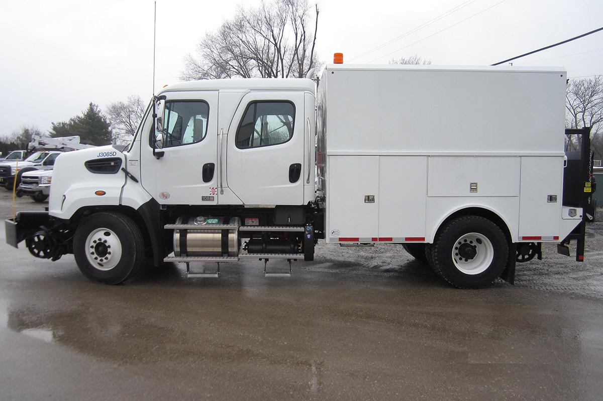 Thermite Welding Truck 33 000 Gvwr Danella Companies