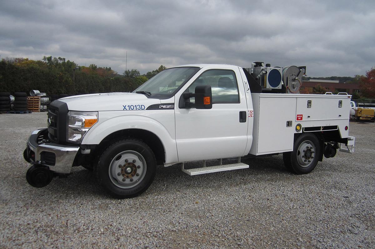 Track Inspection Truck Danella Companies