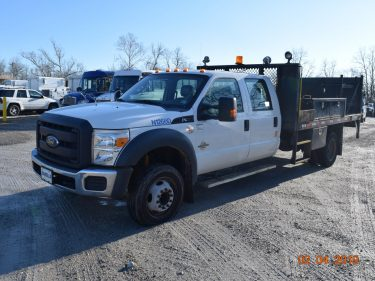 Crew Cab Flat Bed Utility Truck 6