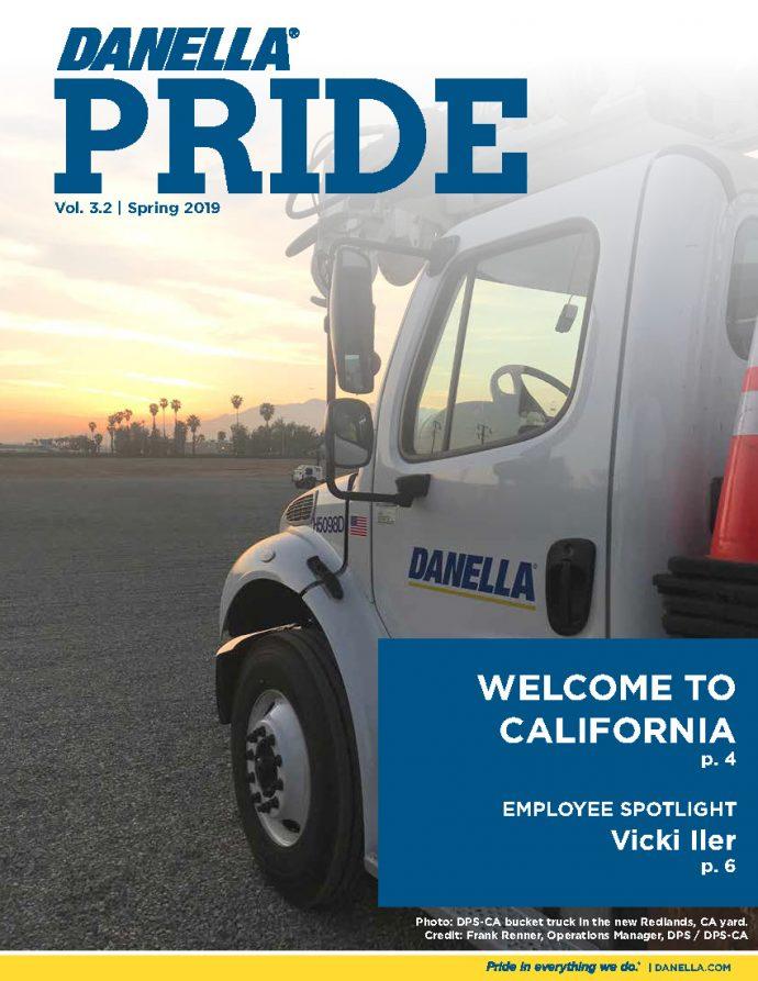 Danella Pride Vol. 3.2 Version 1.0 Spring 2019 Front Cover