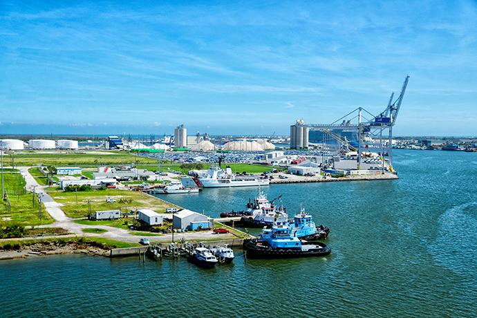 Fiber Optic Repair Site in Port Canaveral