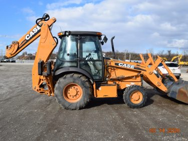 2011 Case 580SN Backhoe 7